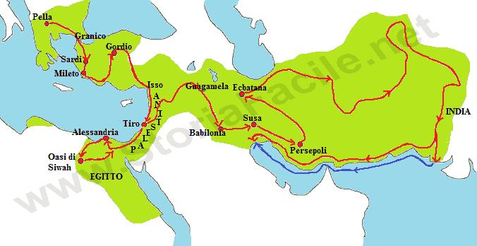 La Spedizione In Persia Di Alessandro Magno