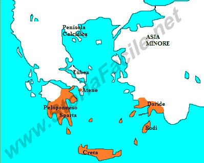 La Prima Colonizzazione Greca